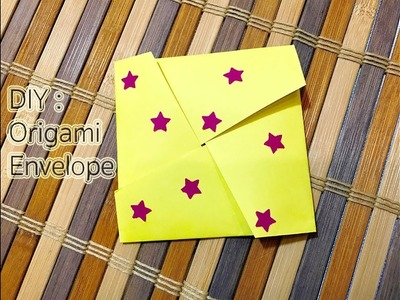DIY : Quick and Easy Origami Envelope