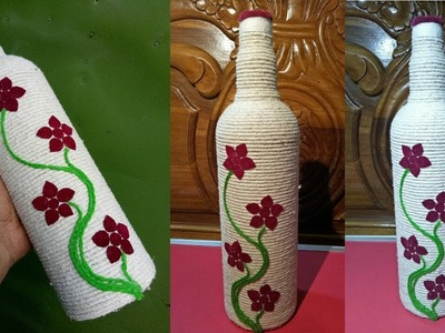 """DIY ROOM DECOR! Easy Crafts Ideas """"Decorative glass bottles"""" for Teenagers"""