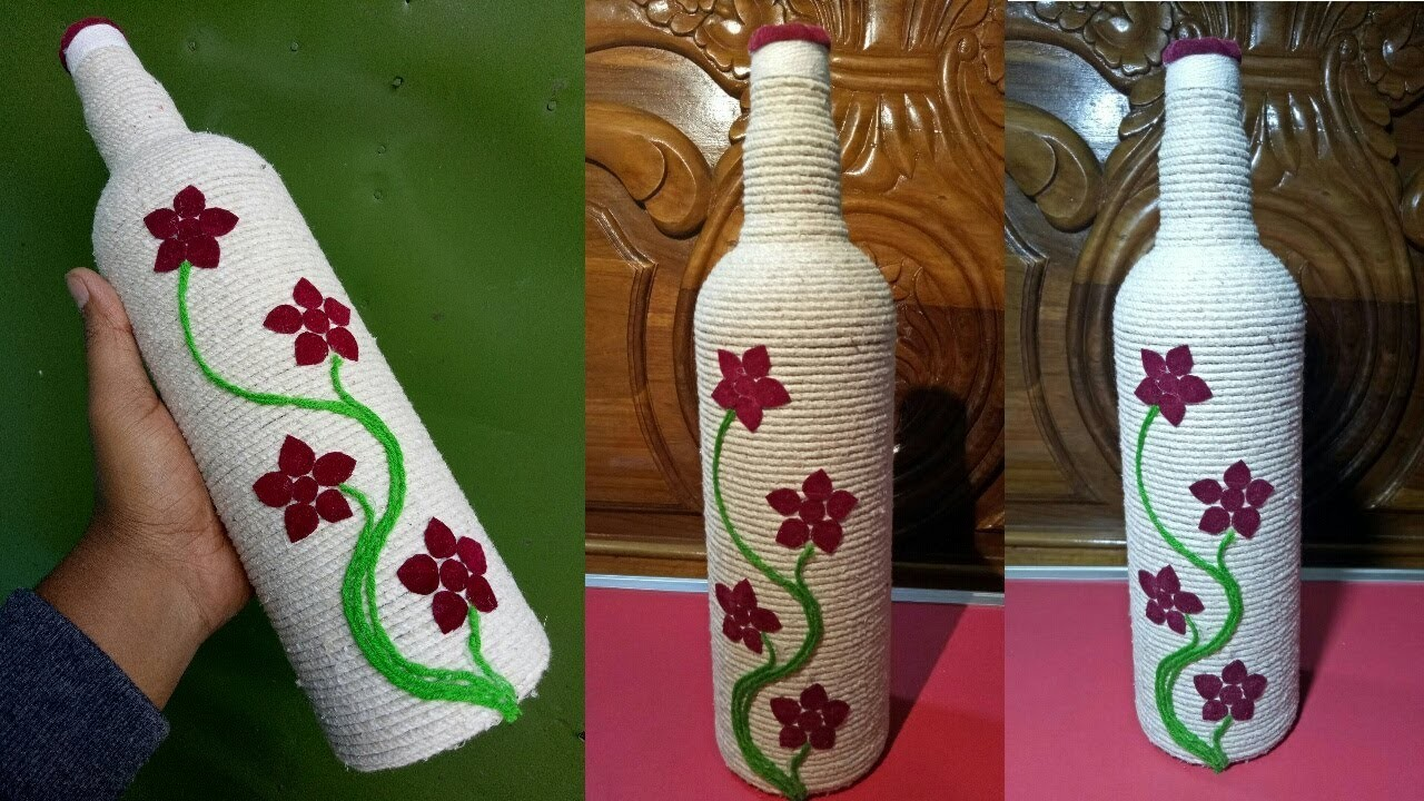 Diy Room Decor Easy Crafts Ideas Decorative Glass Bottles For Teenagers