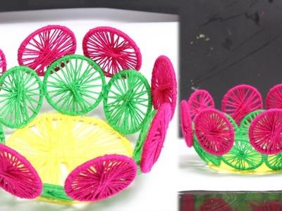 DIY Waste Bangles Into Basket - DIY Crafts