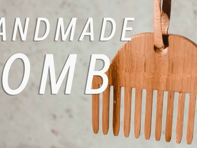 DIY Wooden Hair Comb. Woodworking How To