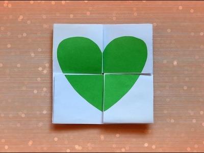 EASY DIY NEVER ENDING CARD | HEART ENDLESS CARD | MAISON ZIZOU