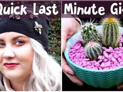 Easy Last Minute DIY Gift Ideas For Christmas or Birthdays