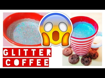 GLITTER CAPPUCCINO | DIY INSTAGRAM. HOLIDAY RECIPES | TristanTube