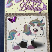 Hand crafted greeting card.