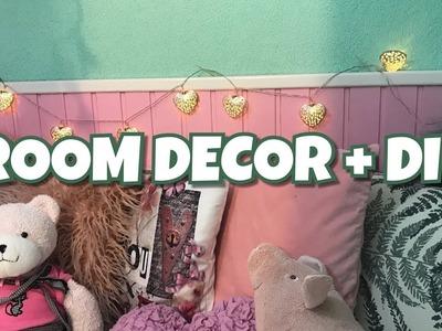 Holiday Room Makeover + DIY | VLOGMAS 18