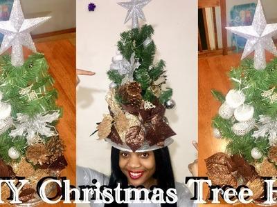 HOW TO: DIY CHRISTMAS TREE HAT 2017 ????| Kadreanna Shakay