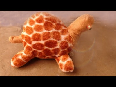 How to make soft tortoise????DIY