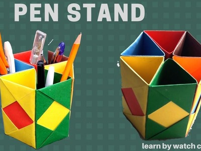 Make a Pen Stand at Your Home (DIY) |Learn By Watch Crafts
