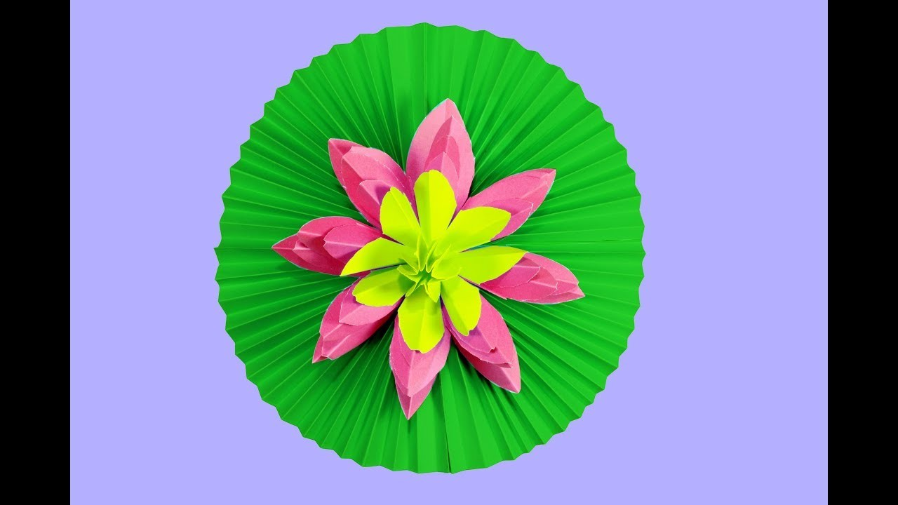 Paper Crafts Water Lily
