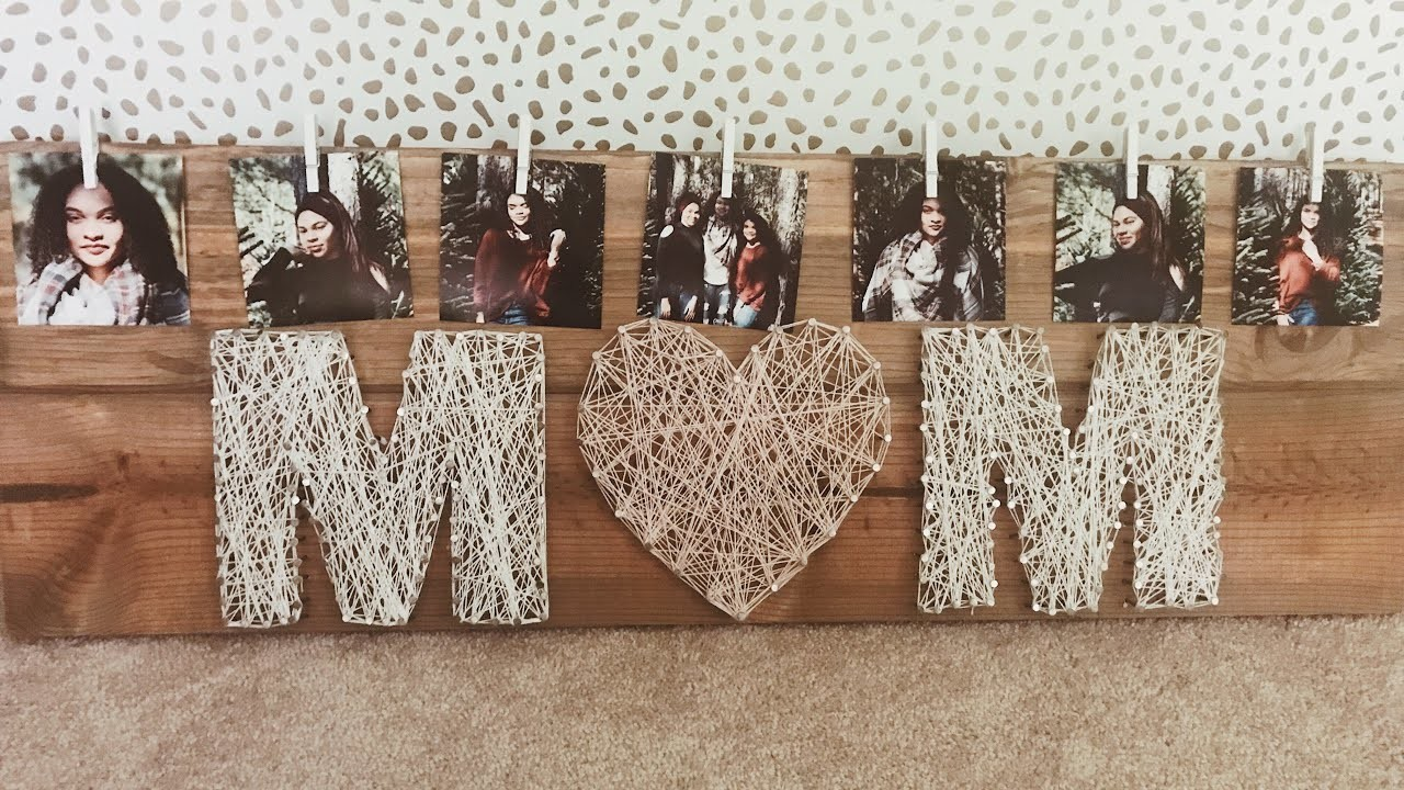 perfect diy christmas gift idea for your mom string art
