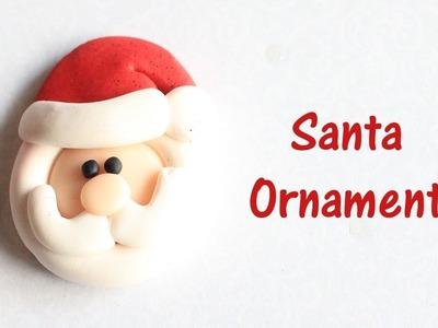 Santa Clause Christmas Ornament DIY. VLOGMAS DAY 18