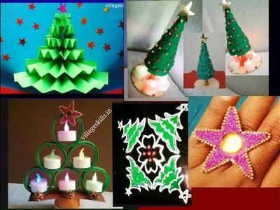 Seven (7) DIY ideas for Christmas decoration,MERRY X-MAS, #07 DIY home decor ideas,paper craft ideas