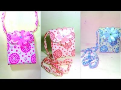 Side bag making-How to make your side bag-DIY Zippered crossing bag making-New styles Sling side bag
