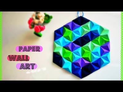 Super Easy DIY Paper Wall Art  Wall Décor