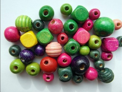 What to do with silk thread beads. easy way in home.diy