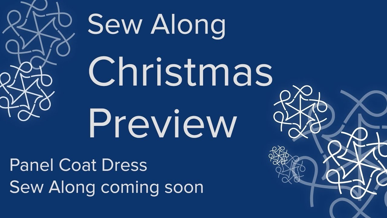 AK Sewing for Beginners - A Christmas  Sew Along Preview