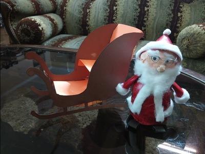 Christmas Crafts | Quick & Easy way to Make Santa Claus using Waste Materals By Vihaan Goel