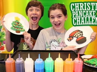 ???? Christmas Pancake Art Challenge! ????