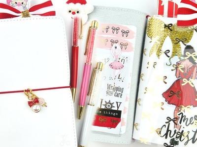 Christmas Traveler's Notebook Set Up! B6 Foxy Fix TN