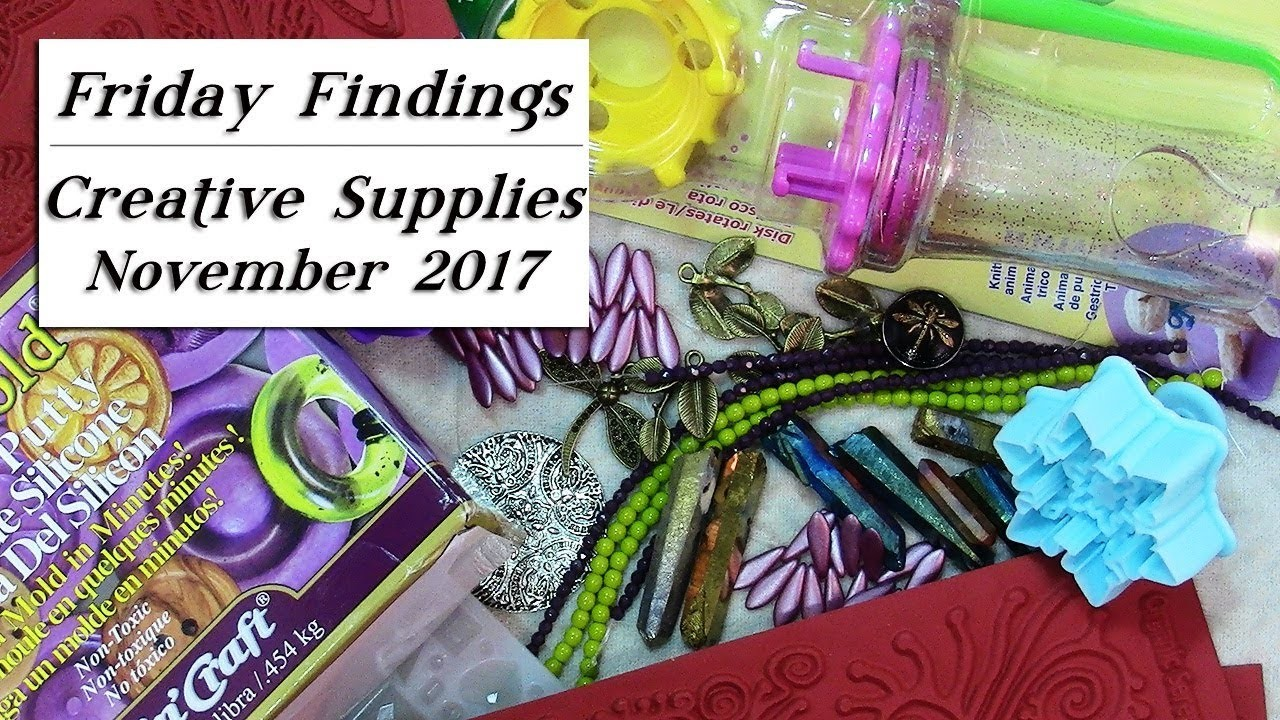 Creative Ideas with Jewelry Making and Crafting Supplies-Friday Findings