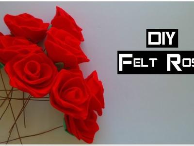 DIY: Felt Roses   My Crafting World