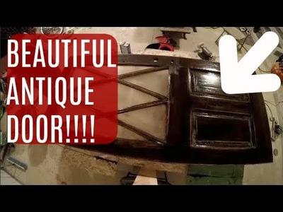 DIY Home Build: Antique Farm House Front Door