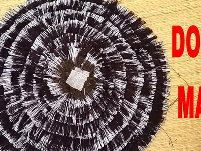 Diy - How To Make Doormat At Home With Waste Cloth