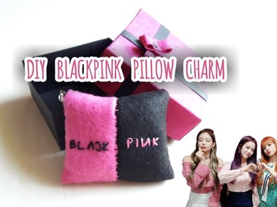 DIY K-Pop Blackpink Pillow charm & Gift Box [Easy & Handmade] | Dongne Chingu | #blinkMe