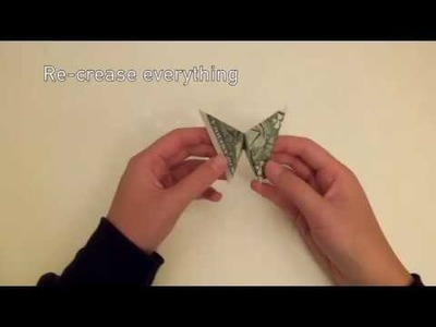 DIY Money Origami Butterfly