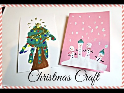 Easy Christmas Crafts for Toddlers - Christmas Craft Ideas