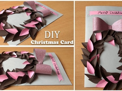 Easy handmade christmas card tutorial | CHRISTMAS DECORATION
