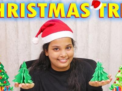 Felt Christmas Tree | Kids Making Christmas Tree with Green, Felt Ornaments | Easy Kids Crafts