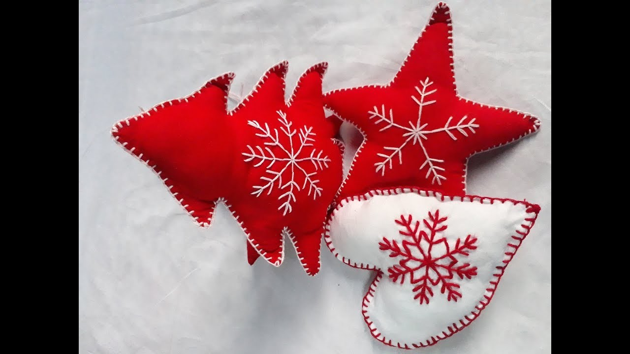 Hand embroidery design for Marry Christmas