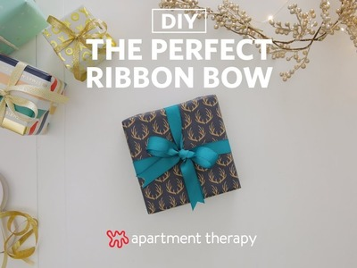 Holiday DIY: Tie The Perfect Bow