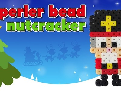 How to Make a Perler Bead Christmas Nutcracker