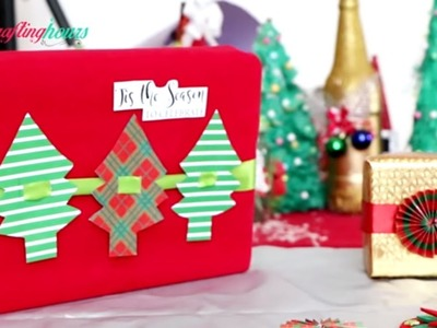 Last Minute Gift Wrapping Ideas for Christmas Gifts Packing