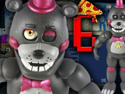 "LEFTY⭐ l FNAF6 l PIZZERIA SIMULATOR ""TUTORIAL"" ✔POLYMER CLAY ✔COLD PORCELAIN"
