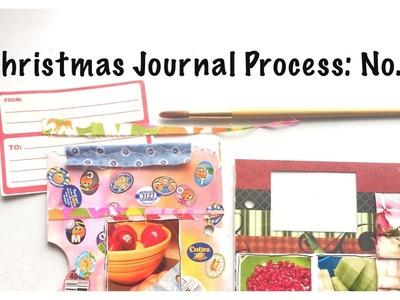 MIni Christmas Album: Holiday Junk Journal With Me Part 5: Unique Scrapbook