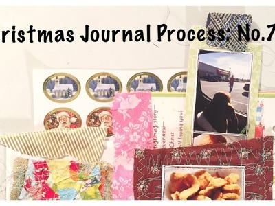Mini Christmas Album: Holiday Junk Journal With Me Part 7:  Unique Scrapbook