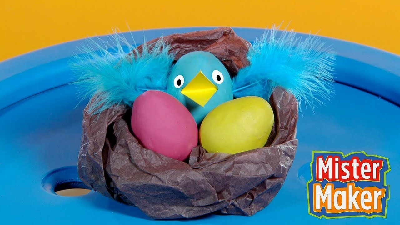 Mister Maker's Paper Bird Nest