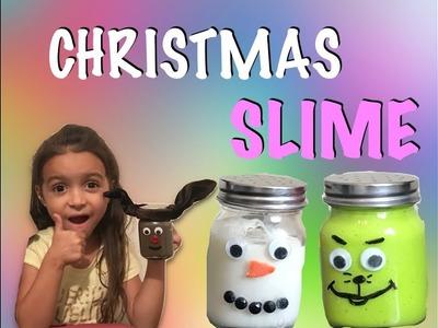 Mya Makes Christmas Slime