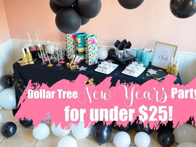 New Years Eve Party under $25! (Dollar Tree DIY)
