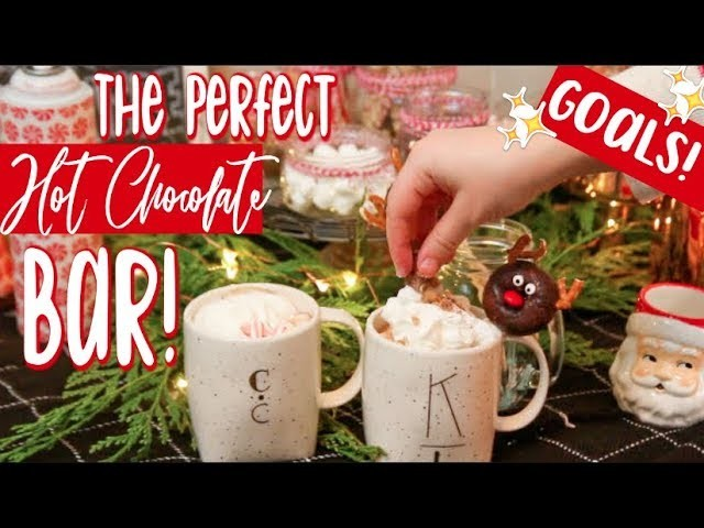 Perfect DIY Hot Chocolate Bar! (Hacks & Ideas + Crock Pot Hot Chocolate Recipe!)