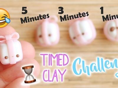 Polymer Clay Timed Challenge #4! (Kawaii Present)