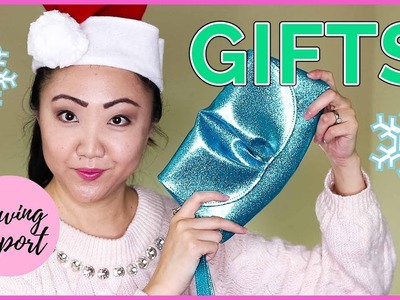 Sewing Handmade Holiday Gifts 2017 ???? Sew & Tell   SEWING REPORT