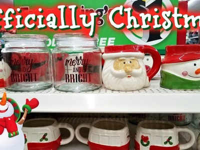 Shop WIth ME! CHRISTMAS IS OFFICIALLY HERE ! Dollar Tree 2017