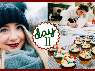 SNOW FAIL & CHRISTMAS BAKING | VLOGMAS