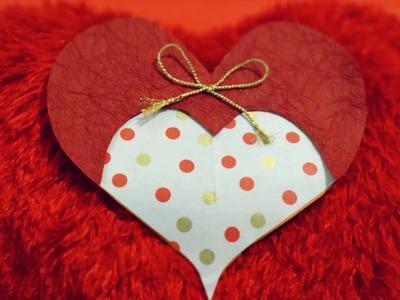 Valentine Card Handmade | Love Card Making | Handmade craft