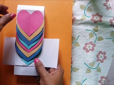 Very easy : How to make New year greeting card for 2018. DIY.പുതുവത്സരാശംസ കാർഡ്. puthuvalsara card